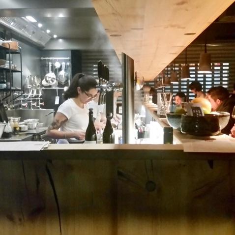 Blick Küche Mochi Ramen Bar