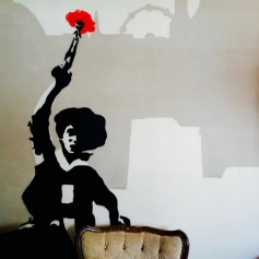 nelke-wandgraffiti