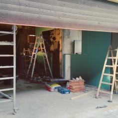 Umbauarbeiten Mochi Ramen