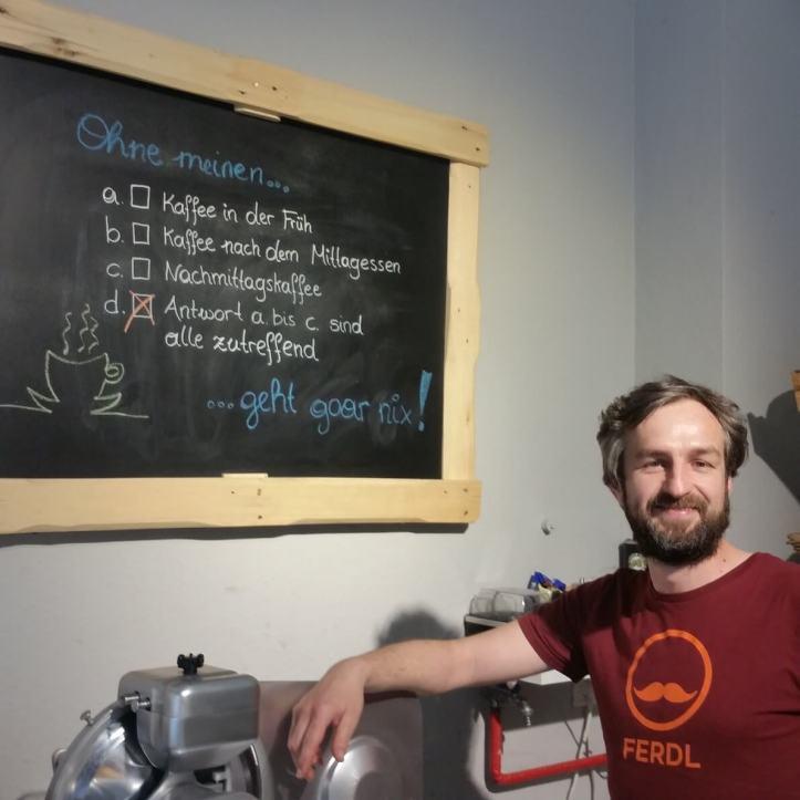 Jürgen mein kaffee